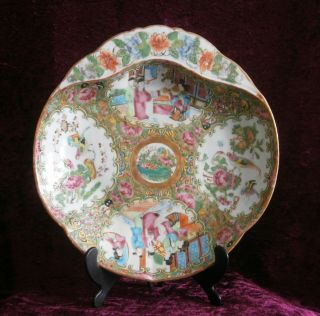 Important Large Antique Chinese Porcelain Famille Rose Plate/dish - photo