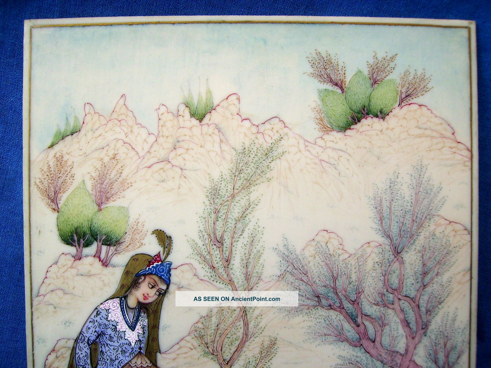 Miniature Painting Wallpaper Persian Miniature Painting
