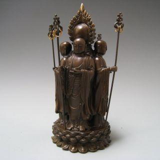 Tibet Executive Buddha Stick Amitabha Looking Around The Whole World Nr photo