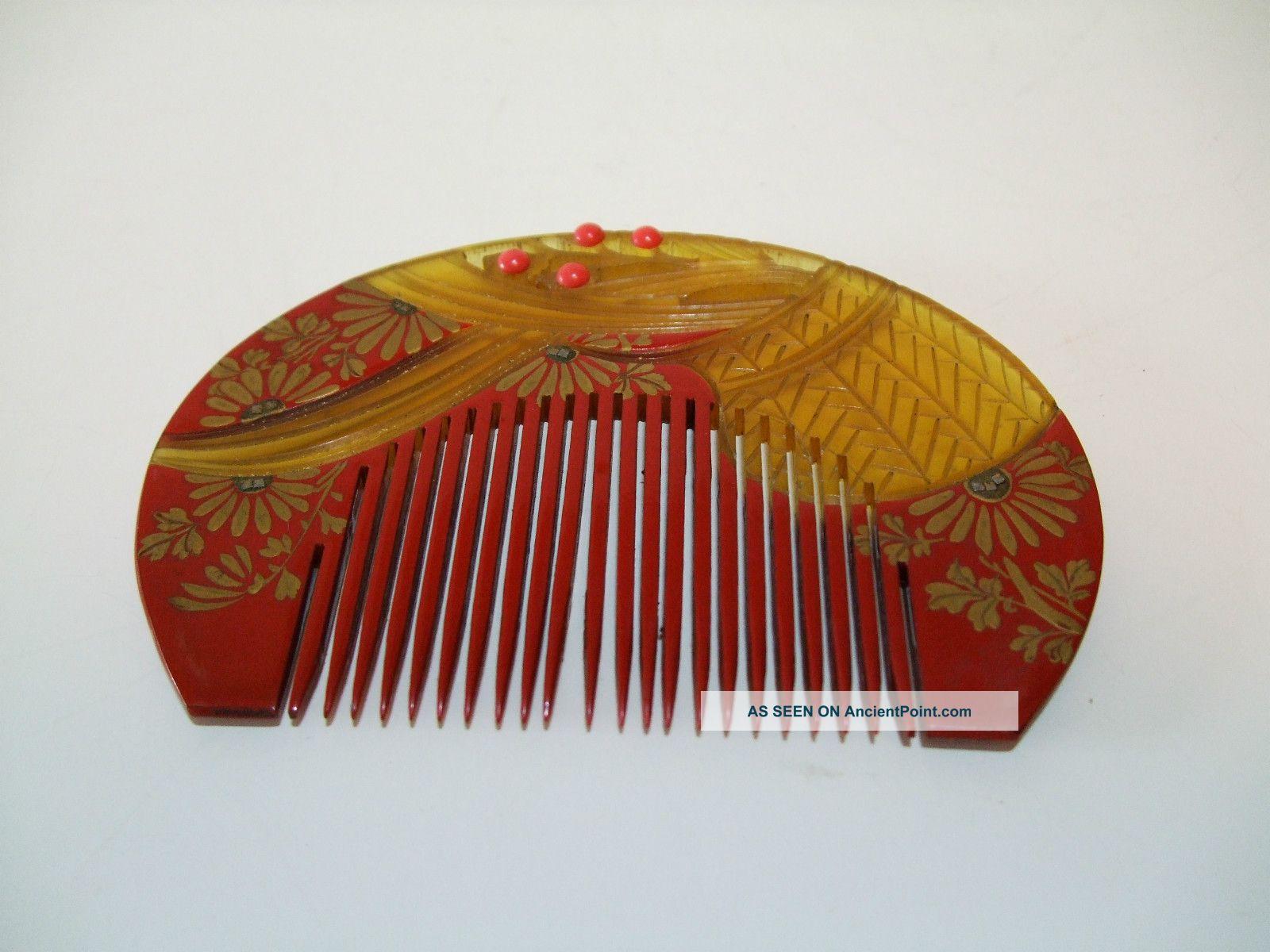 Hot sale decorative hair comb wholesale images