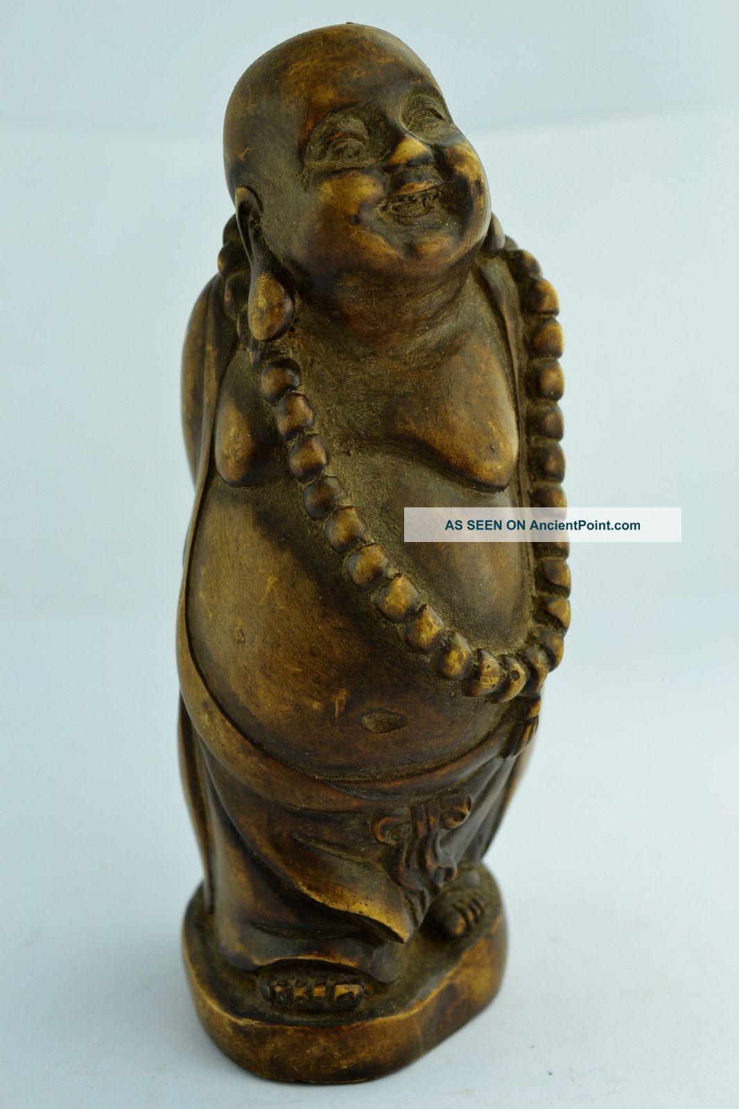 China Collectibles Old Decorated Handwork Alabaster Buddha Exorcism Statue Buddha photo