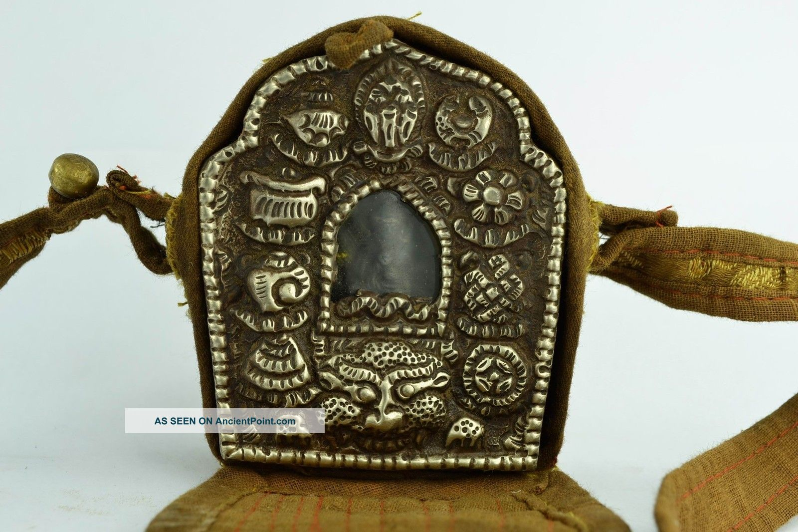 Asian Old Collectibles Decorated Wonderful Handwork Copper Buddha Statue Aaaaa Buddha photo