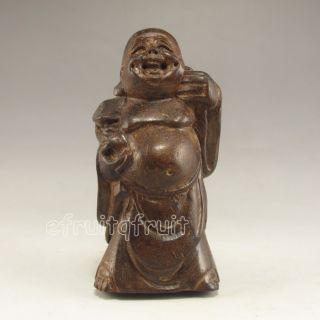 Chinese Chen Xiang Wood Statue - Buddha photo
