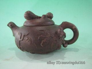 Rare Chinese Zi Sha Teapot photo