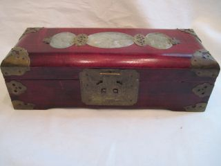 Antique Chinese Jewelry Box photo