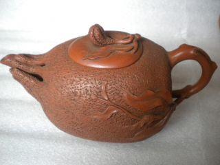 China Chinese Yixing (zisha) Pottery Finger Citron Shape Of The Teapot 337 photo