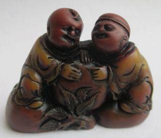中国古代寿山石手工雕刻(仙童祝寿)/9 - 524 photo