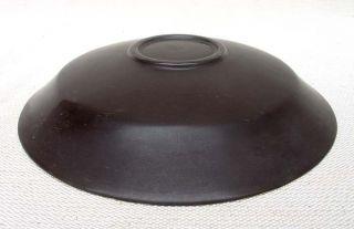 14 - 42: China Ding - Kiln Dark - Brown Glaze Porcelain Bowl & Plate photo
