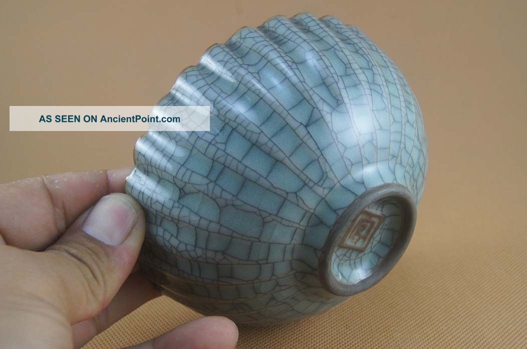 Chinese Officer ' S Kiln Porcelain Bowl Bowls photo