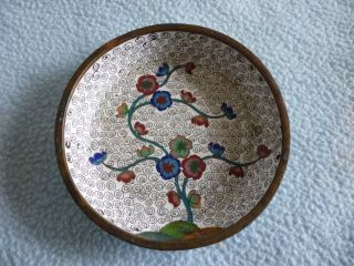 Antique Chinese Cloisonne Pin Dish photo