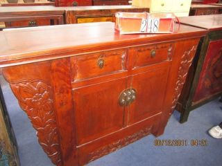 Antique Buffet Table From China photo