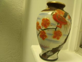 Japanese Satsuma Vase 1930 ' S Nr photo