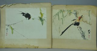 A Pair Of Paintings From Chinese Famous Artist Dexian photo
