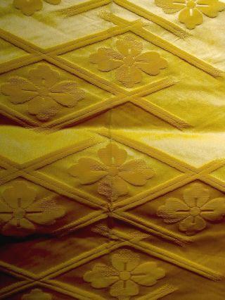 Japanese,  Kimono,  Nagoya Obi,  Yellow, photo