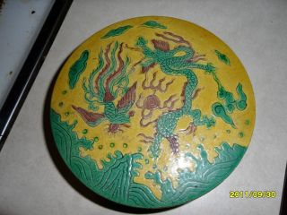 Chinese Sign Dragon Box photo