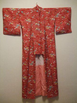 Antique 1920 ' S Japanese Kimono photo