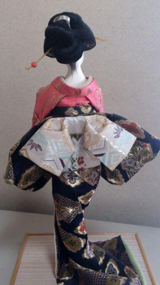 A Japanese Geisha Kimono Doll,  Kanzashi photo