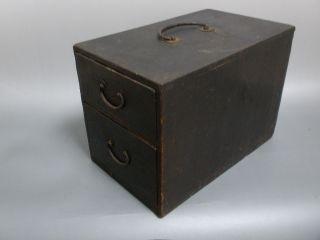 Japanese Fine Art Edo Zenibako Money Box photo