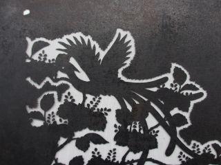 Japanese Kimono Katagami Stencil Pattern,  Vintage,  Antique,  Old,  Rare,  Japan - A05 photo
