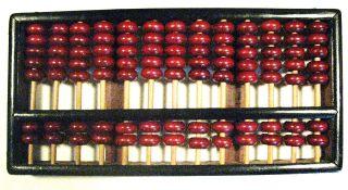 Vintage Chinese Abacus photo