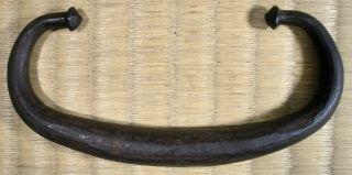 Cast Iron Drawer Pull / Japanese Tansu / Antique photo