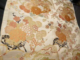 Japanese Kimono Obi Cloth photo