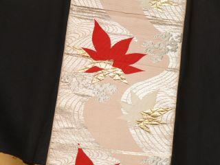 Japanese Kimono Fukuro Obi,  Fine photo
