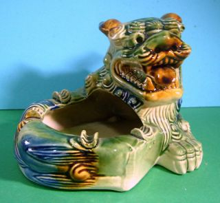 Jingdezhen Porcelain Foo Dog Tray New U photo