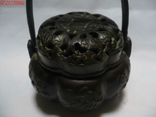 Like Pumpkin Copper Incense Burner,  Statues,  Plum,  Orchid,  Bamboo,  Chrysanthemum photo