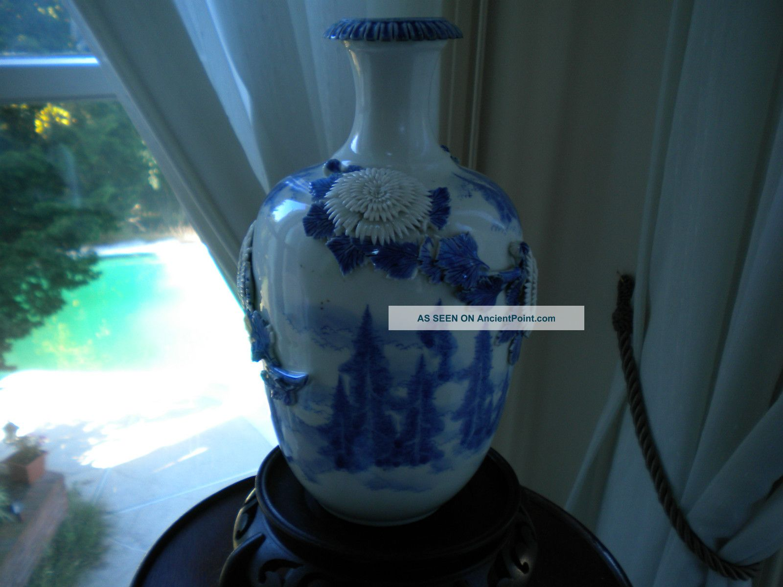 Hirado Vase With Pines In The Clouds Vases photo