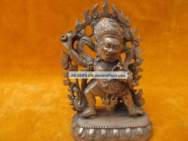 Ancient Statues Chinese Buddha Sending Bless Vivid Old 11 Buddha photo