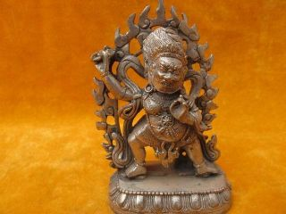 Ancient Statues Chinese Buddha Sending Bless Vivid Old 11 photo