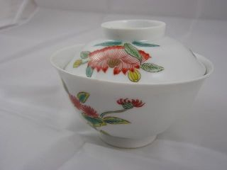 Antique Japanese Imari Chawan Early 19c Floral Decoration Handpainted Nr 2308 photo