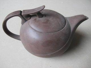 Chinese Yixing Zisha Teapot Round Smooth Unique photo