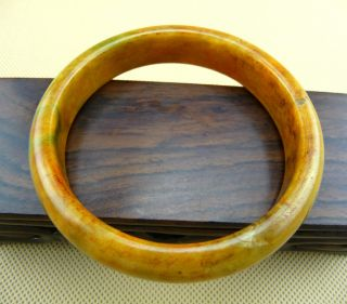 Chinese Classical Old Jade Bracelet/10 - 057 photo
