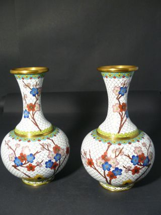 2 Chinese Cloisonne Pr Asian 9