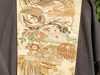 Reversible Kimono Maru Obi Reversible Fine photo