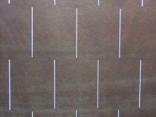 S174 Japanese Katagami Unframed Kimono Stencilstripes Lines Rectangle Nr photo