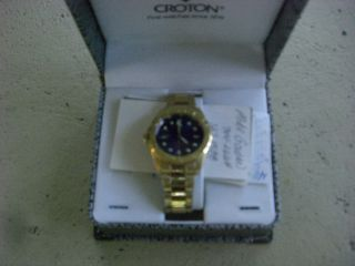 Croton Mens Watch With Date photo