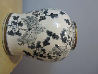 Oriental China White Porcelain Vase photo