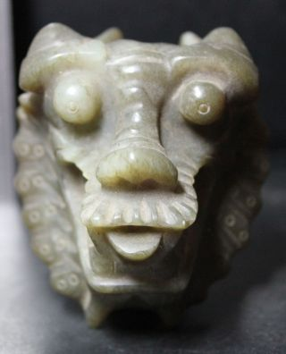 Chinese Rare Elegant Sculpture Dragons photo