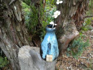 Old Japanese Sake Bottle photo