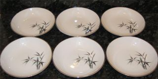 Set Of 6 Japanese Hand Painted
