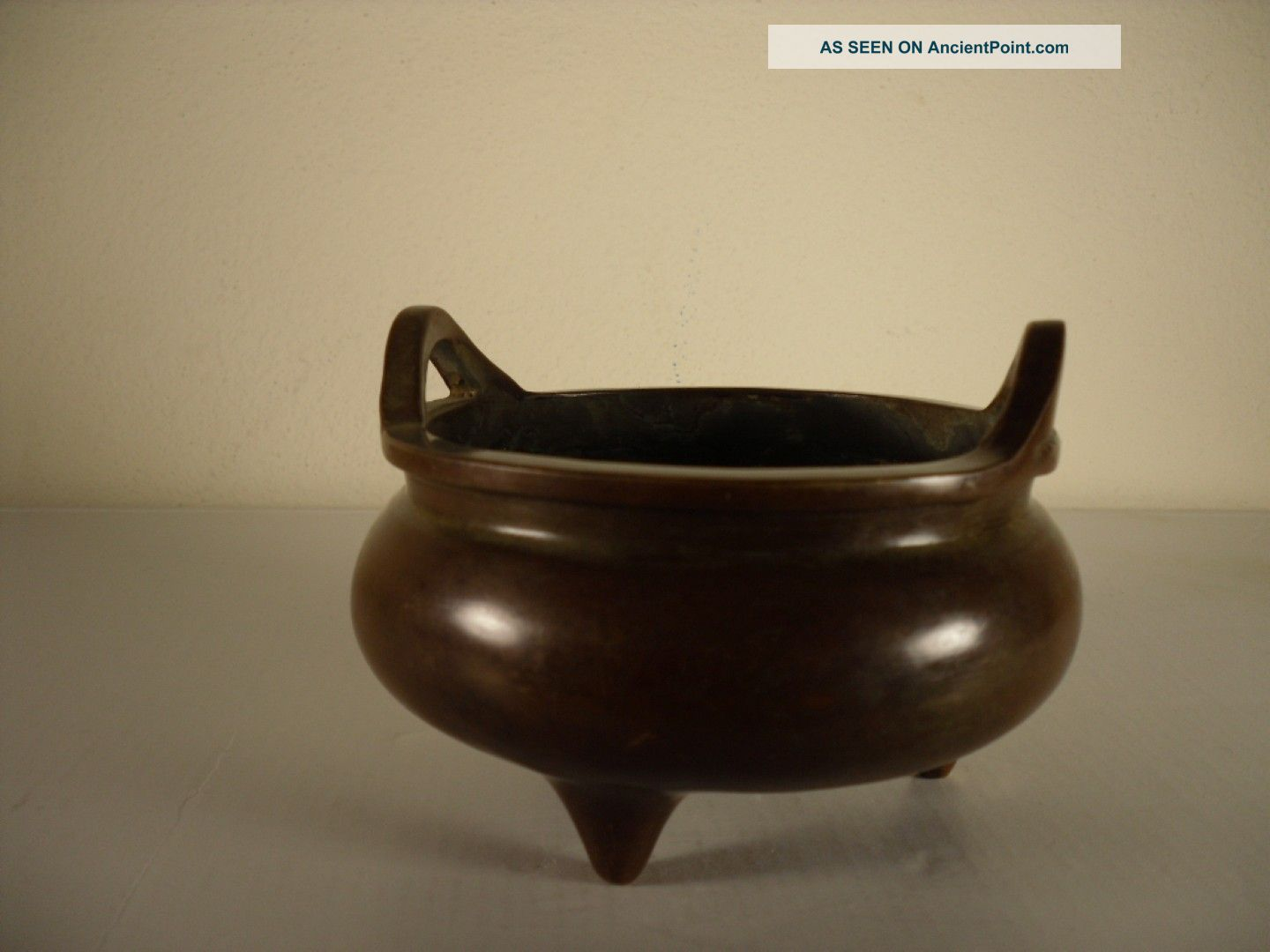 Bronze Chinese Ming Dynasty Incense Burners With Mark Incense Burners photo