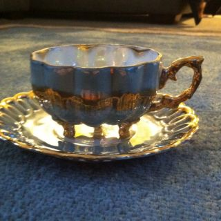 Fan Crest Fine China Tea Set photo