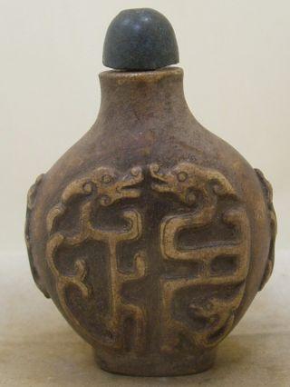 Wonderf Antique Chinese Old Tibeten Hand - Carved Natura