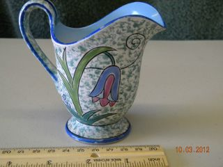 Noritake Hand Painted Pitcher Stamped Made In Japan photo