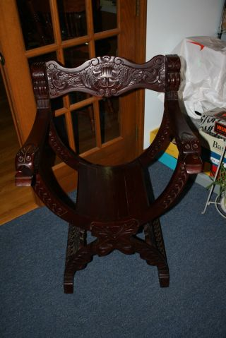 Item Not Just Need Information,  Antique Wood Curved Barrel Chair ?????? photo