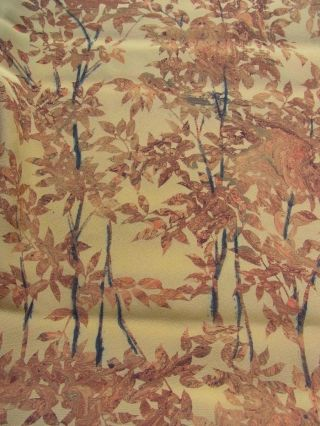 Japanese Kimono Fabric,  Quilt,  Patch,  Silk,  Suminagashi photo
