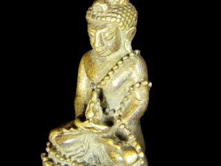 Real High Power Phra Kring Somdet Phrasangkharat Sacred Buddha Amulet Statue photo